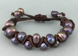 beads with cross bracelet images Leather pearl criss cross braceletthe lh bead gallery jpg