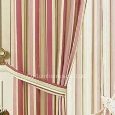 Pink Striped Curtains Colored Striped Nautical Bedroom Contemporary Curtains Uk