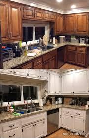 refinishing kitchen cabinets reddit my true diy cabinet transformation using the