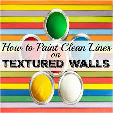 how to paint clean lines on textured walls life is sweeter by design