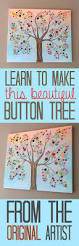 Home Button Decorations by Button Tree A Beautiful Canvas Project Full Of Vibrant Colors