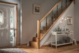 Glass Banisters For Stairs Glass Staircases Reflections Range By Cheshire Mouldings