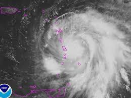 hurricane maria path nears puerto rico hurricane jose looms