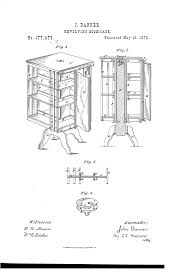 Danner Revolving Bookcase Patent Us177479 Improvement In Revolving Book Cases Google Patents