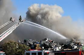 North Bay Fire Control District by San Leandro Puts Alco Metals In Seat After July Fire