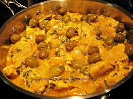 cuisine marocaine poulet aux olives tous les goûts sont chez barbara poulet marocain aux olives