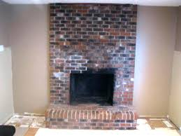 brick fireplace paint update painted surround ideas designs for
