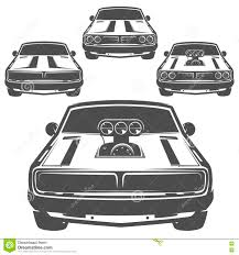 car logo black and white auto mechanic black and white emblems stock vector image 79735127