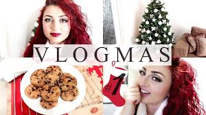 christmas house tour u0026 baking cookies vlogmas 1 youtube
