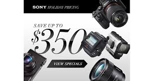 black friday deals on cameras save up to 350 with sony black friday deals