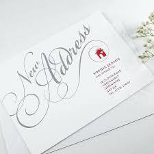 amazing change of address business cards card printing custom