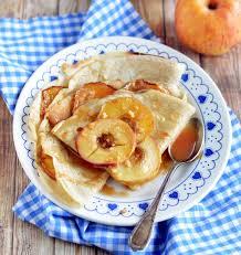 recette de cuisine salé crêpes aux pommes et au caramel salé vegan les meilleures