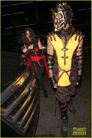 Judge Dredd Halloween Costume Kylie Jenner Shows Xena Costume Halloween Photo