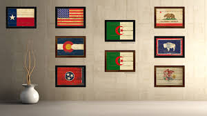 Country Flag Images Algeria Country Vintage Flag Home Decor Gift Ideas Wall Art