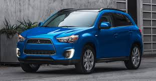 mitsubishi blue 2015 mitsubishi outlander sport revamped with cool led running