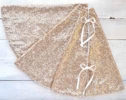 brown tree skirt christmas tree skirts etsy