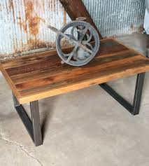 Diy Reclaimed Wood Side Table by Furniture Contemporary Rectangle Reclaimed Wood Coffee Table With