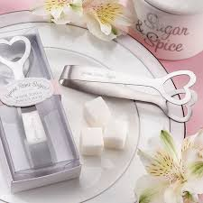practical wedding favors stainless steel heart sugar tong kitchenware sugar clip