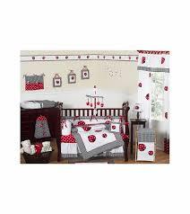 Ladybug Crib Bedding Set Sweet Jojo Designs Ladybug 9 Crib Bedding Set