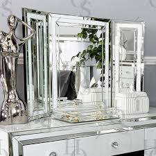 white vanity table with mirror white seattle dressing table mirror house of sparkles