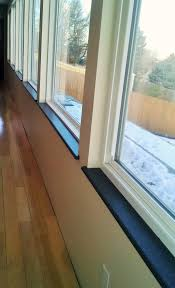 How To Tile A Kitchen Window Sill Custom Corian Or Hi Macs Window Sills