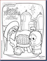 100 st nick coloring pages christmas elve saint