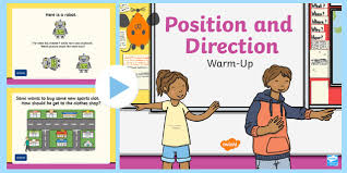 position and direction primary resources positional page 1