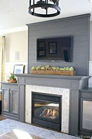 tv on fireplace decorations ideas inspiring amazing simple and tv
