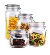 glass kitchen canisters sets wayfair basics wayfair basics 4 cl lid glass kitchen