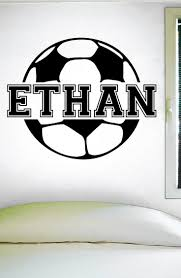 9 best family personalized images on pinterest vinyl wall decals custom soccer name wall decal 0122 personalized soccer name wall decal girls soccer boys soccer custom name