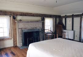 bedrooms of a vintage timber frame home handmade houses with