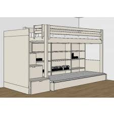 bureau pour mezzanine chambre complete pour enfants ados avec lit mezzanine bureau et