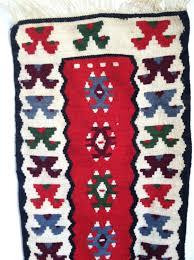 vintage southwestern wall tapestry kilim print navajo wall