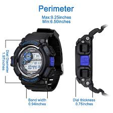 amazon com timsty electronic sports watch with led backlight