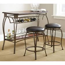steve silver rebecca wine storage counter height dining table