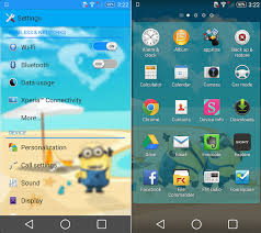 wars themes for android xperia wars minions theme for lollipop kitkat devices