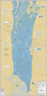Map Of Mississippi River Mississippi River Pool 8 Fold Map