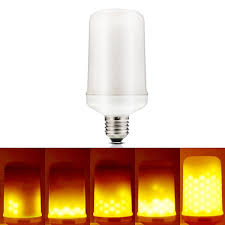 Flickering Light Bulbs Halloween Amazon Com Lakes Led Flickering Flame Bulb 1300k True Fire Color