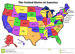 Blank Map Of 50 States by United States Map With Names