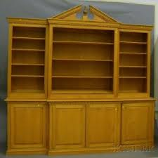 Break Front Bookcase Search All Lots Skinner Auctioneers
