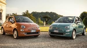 fiat 500 hatchback senas galingas variklis ar naujas mažos galios automobilis fca