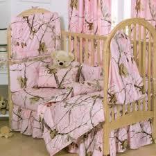 Camo Crib Bedding Set Pink Realtree Crib Bedding