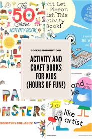 activity and craft books for hours of fun book nerd mommy