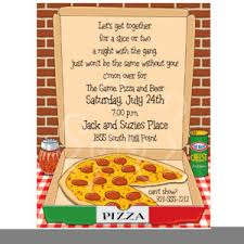 great pizza birthday party invitations template saflly free