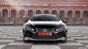 lexus performance hybrid 2018 lexus lc 500h hybrid color caviar front hd wallpaper 50