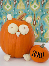 Small Pumpkins Decorating Ideas Funny Homemade Halloween Centerpieces For Kids Envisioned Owl Face