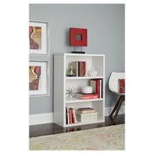 target 3 shelf bookcase 3 shelf bookcase 44 white closetmaid target