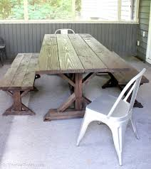 Build Cheap Outdoor Table by Creating A Meaningful Home Diy On The Cheap Jenna Burger