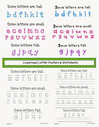 classroom freebies lowercase letter anchor charts and worksheets