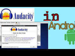 audacity android how to install audacity on android ios audac with loop